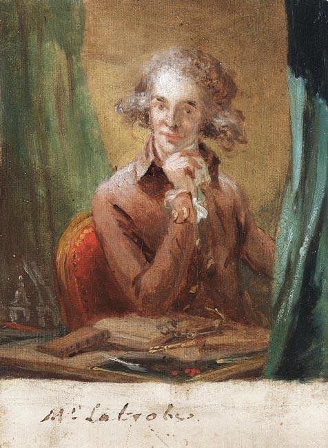 Portrait of Benjamin Latrobe