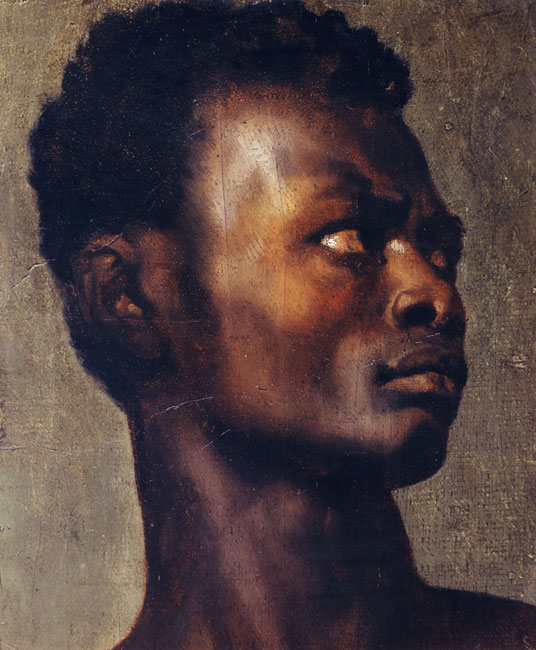 Study of an African's Head