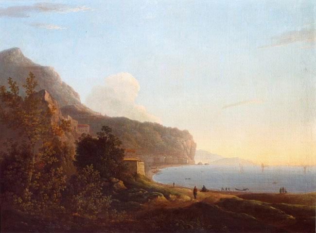 A Neapolitan Coastal View from Pozzuoli