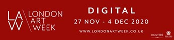 Logo for London Art Week Digital