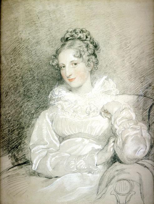Portrait of Countess Thérèse Czernin, née Orsini und Rosenberg