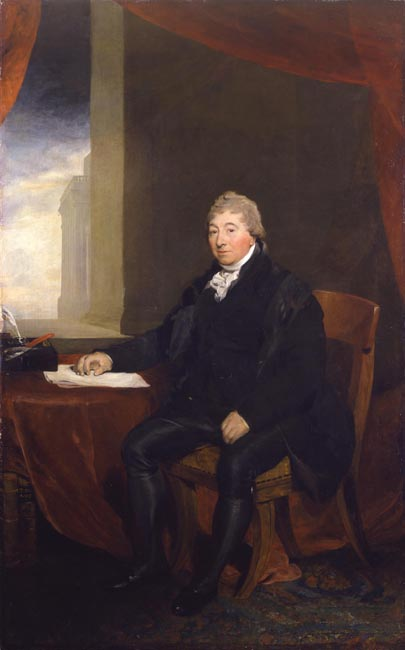 Portrait of Sir Robert Wigram