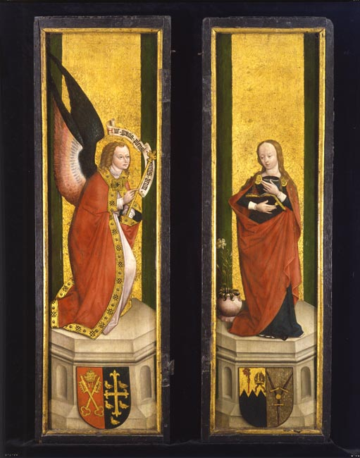 The Cotehele Annunciation Panels 1498-1500