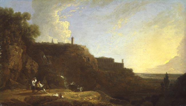 The Cascatelli of Tivoli and Villa of Maecenas