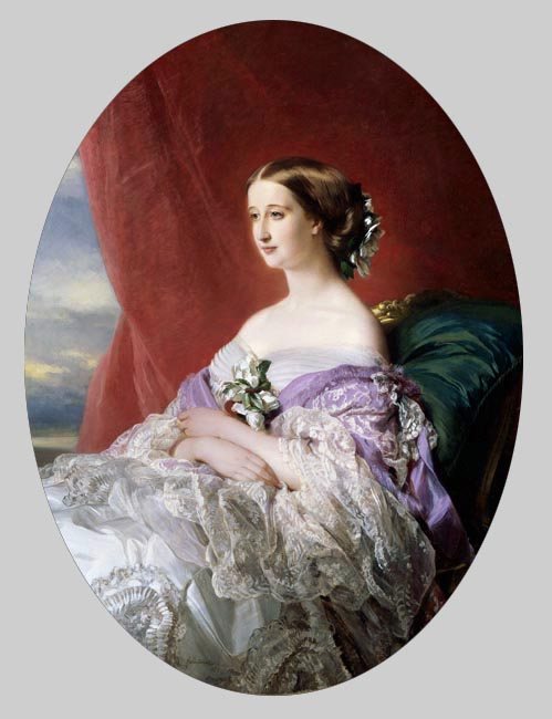 The Empress Eugénie