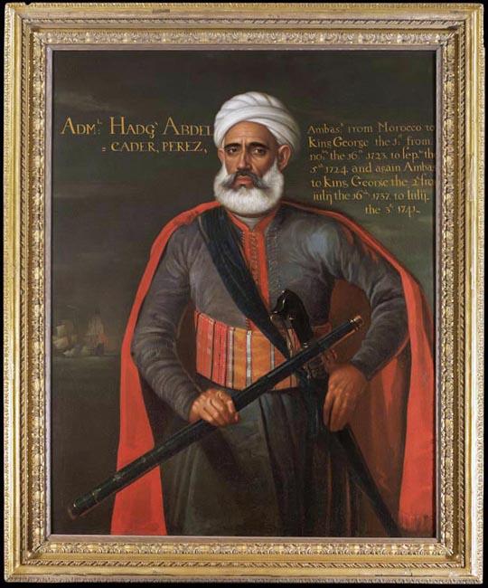 Portrait of Admiral Abdelkader Perez