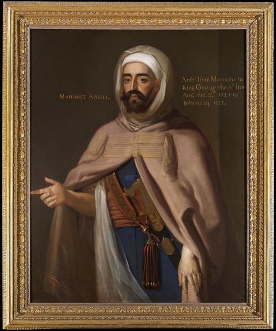 Portrait of Mohammed Ben Ali Abgali